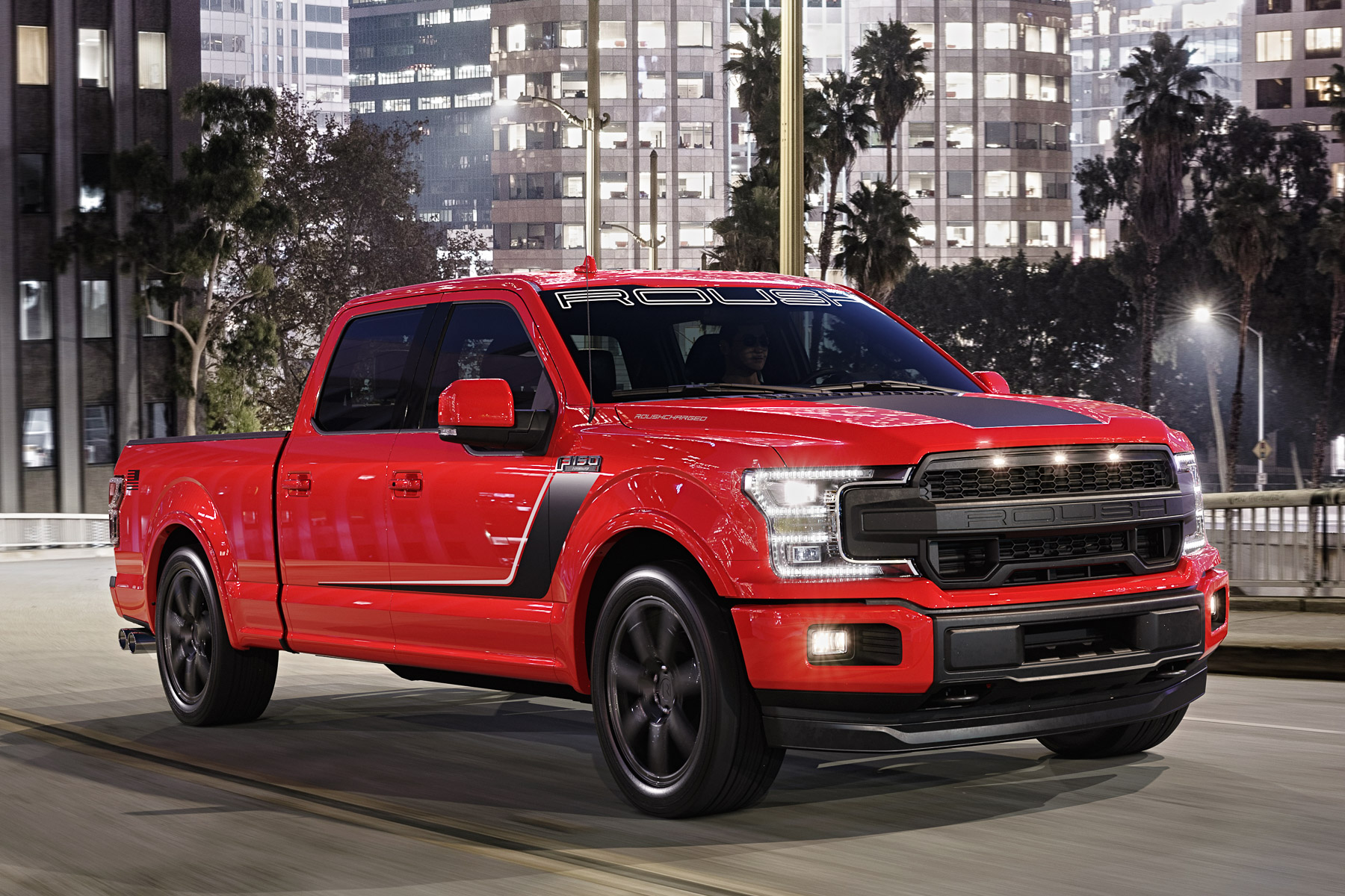 ROUSH F-150 Nitemare supercharged V8 truck