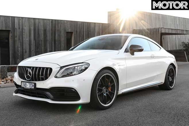 04 2019 Mercedes AMG C63 S Coupe front