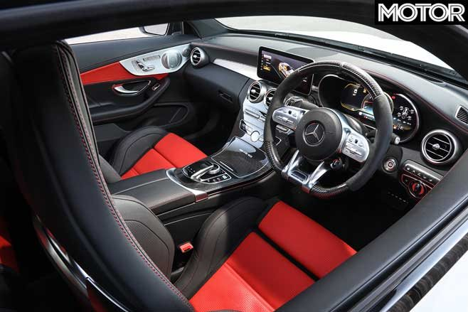 05 2019 Mercedes AMG C63 S Coupe interior