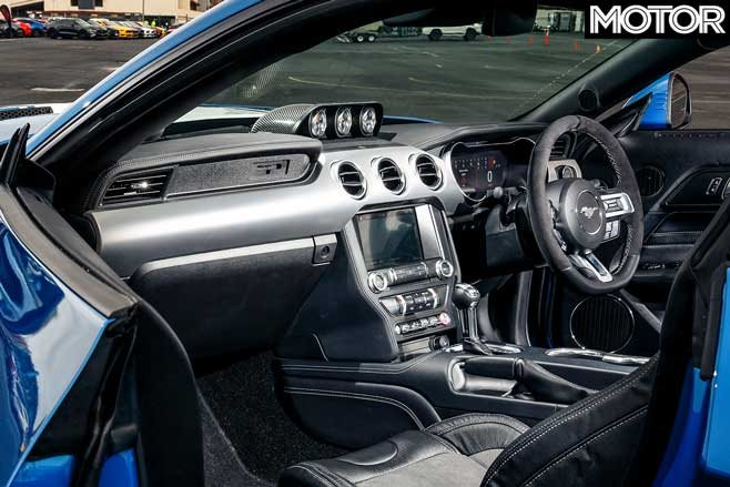 08 2019 Shelby Super Snake interior