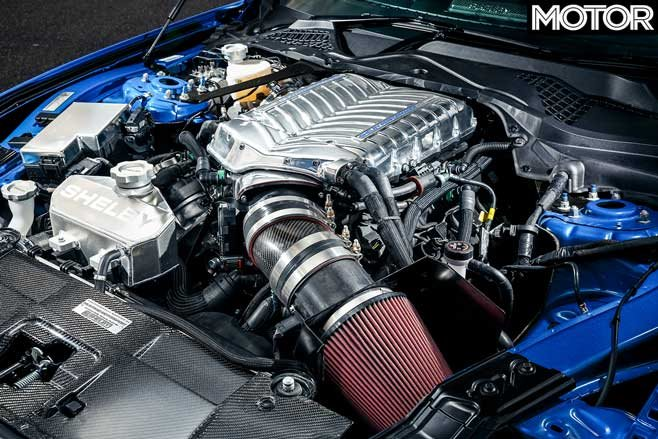 09 2019 Shelby Super Snake engine