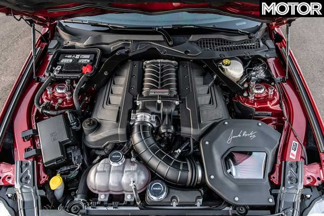 2020 Jack Roush Edition Mustang supercharged engine