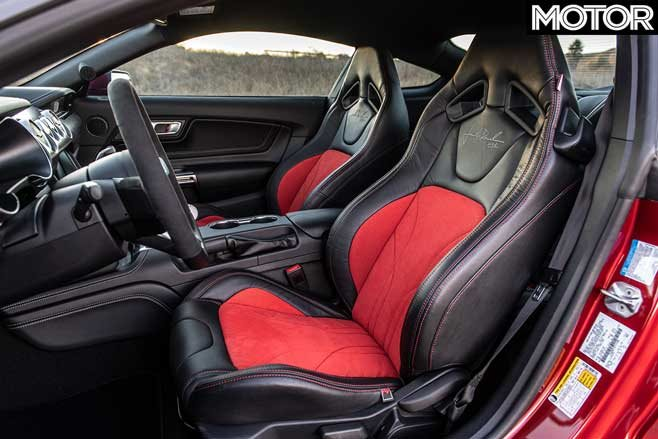 2020 Jack Roush Edition Mustang interior