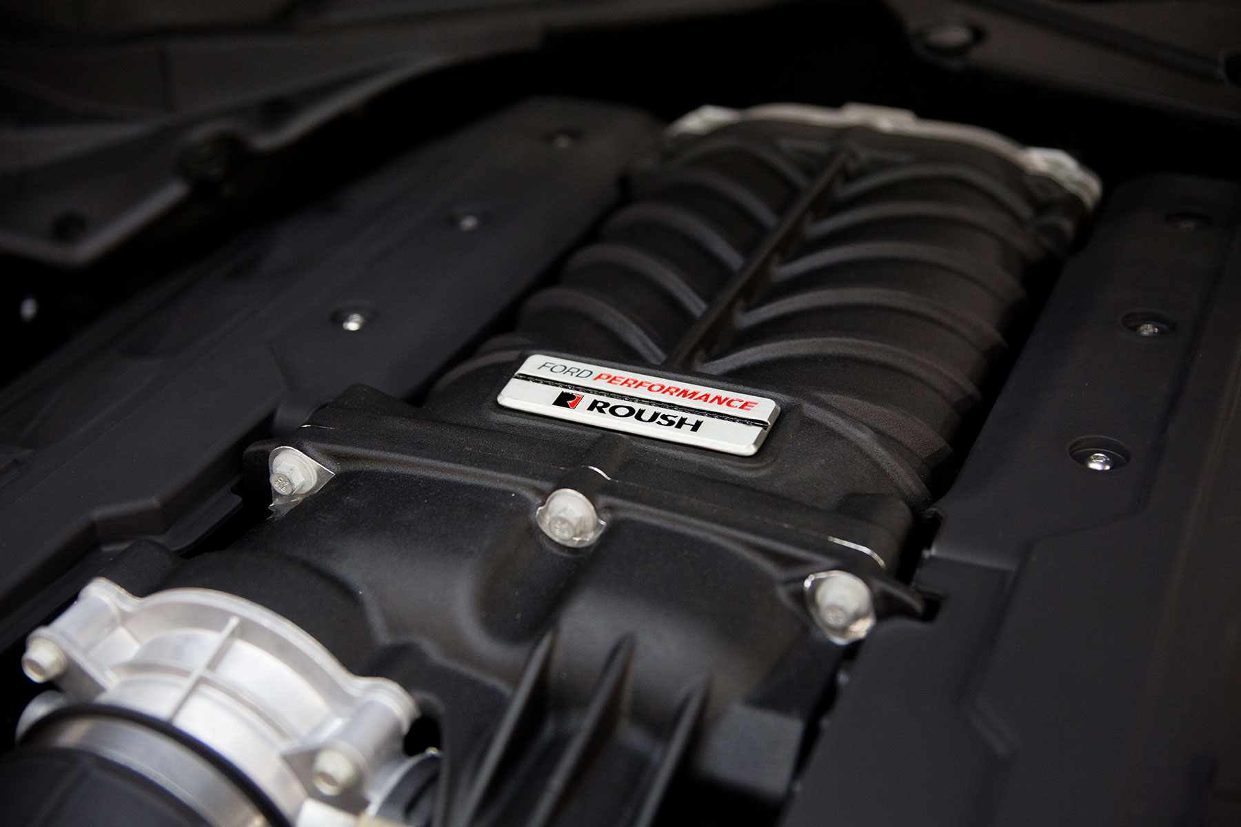 ROUSH Ford Performance Mustang Supercharger