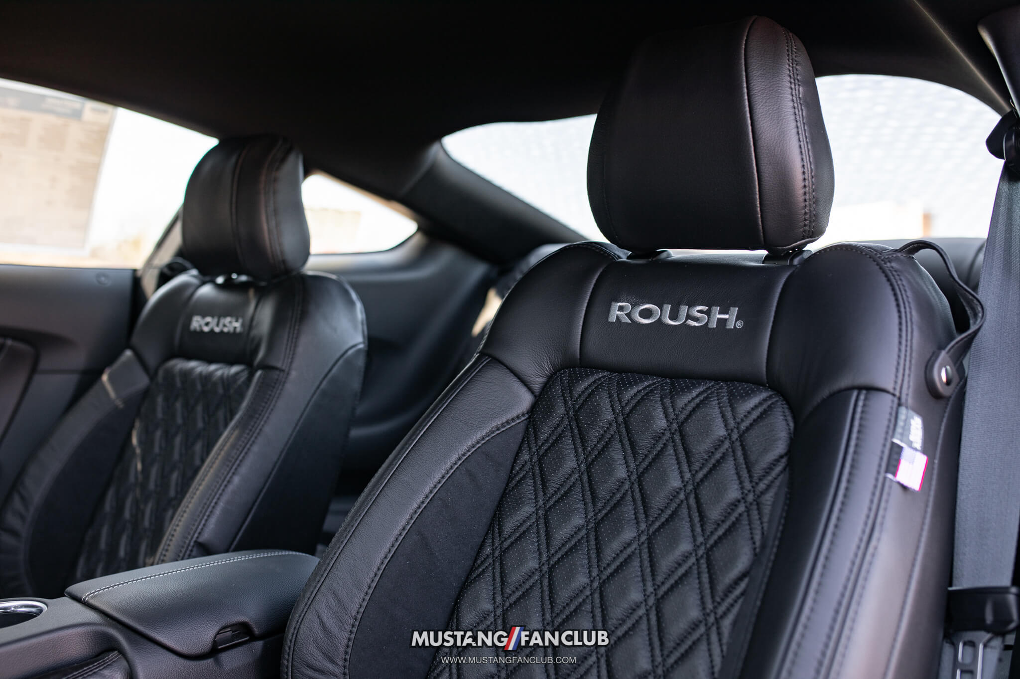 Diamond Stitched Premium Leather Seating