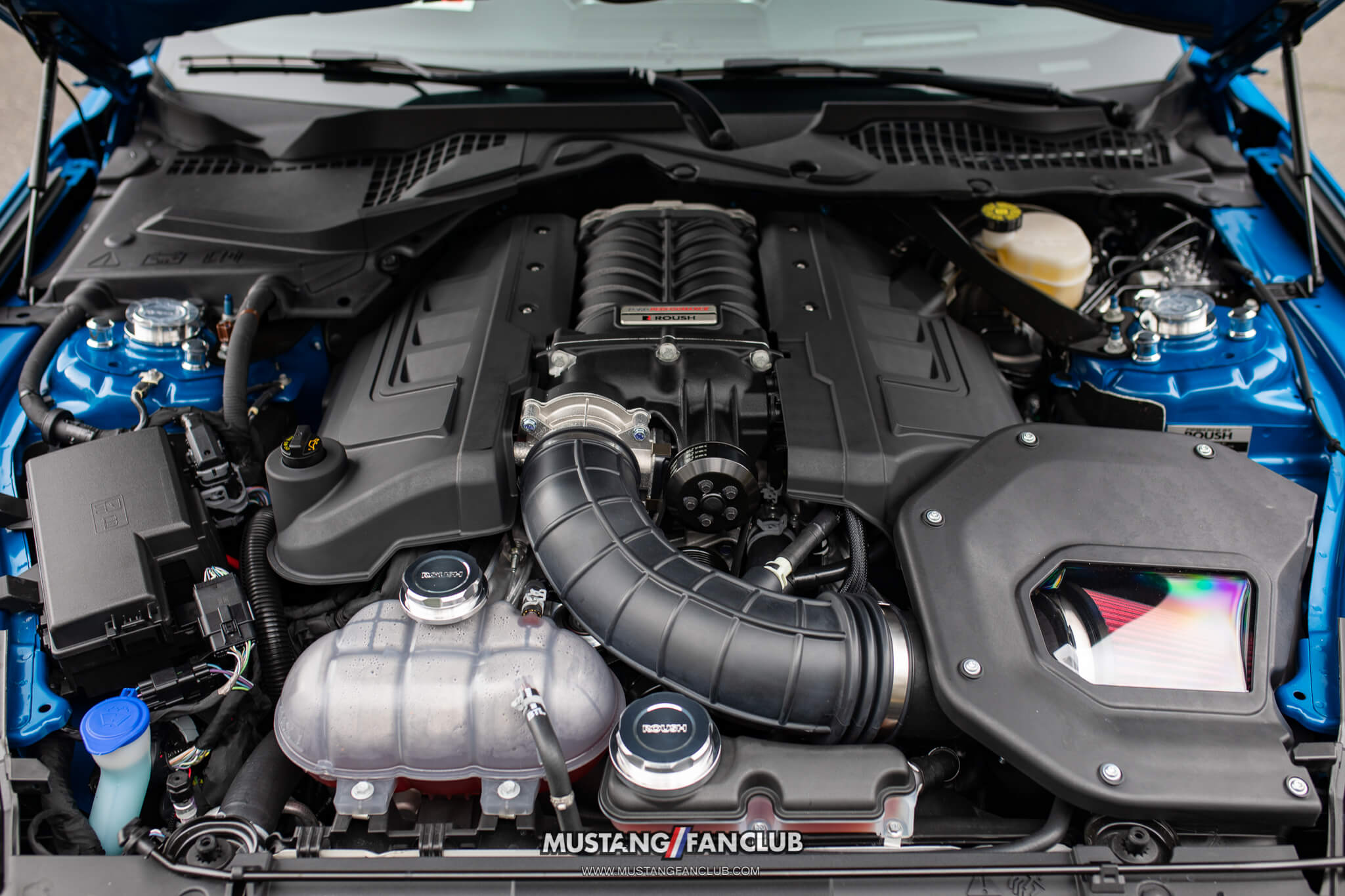 750hp Phase 2 ROUSH Supercharger