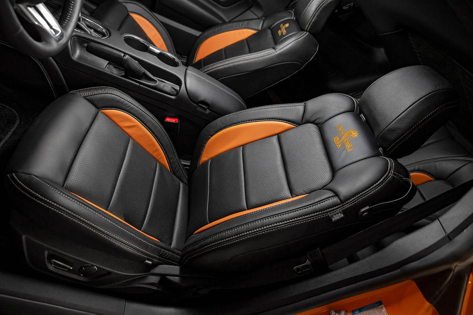 Super Snake Bold Orange Interior