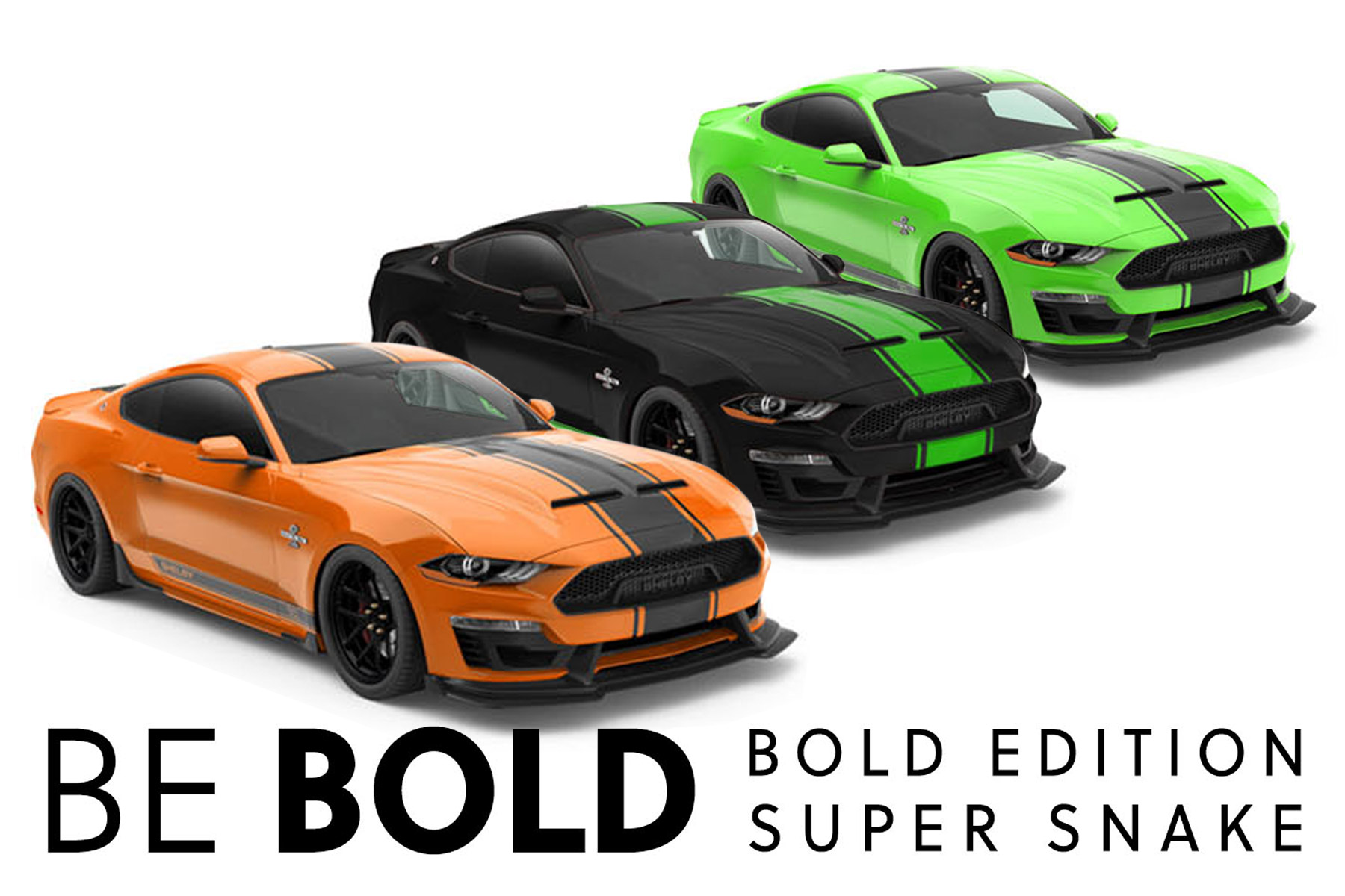2020 Shelby Super Snake Bold Edition
